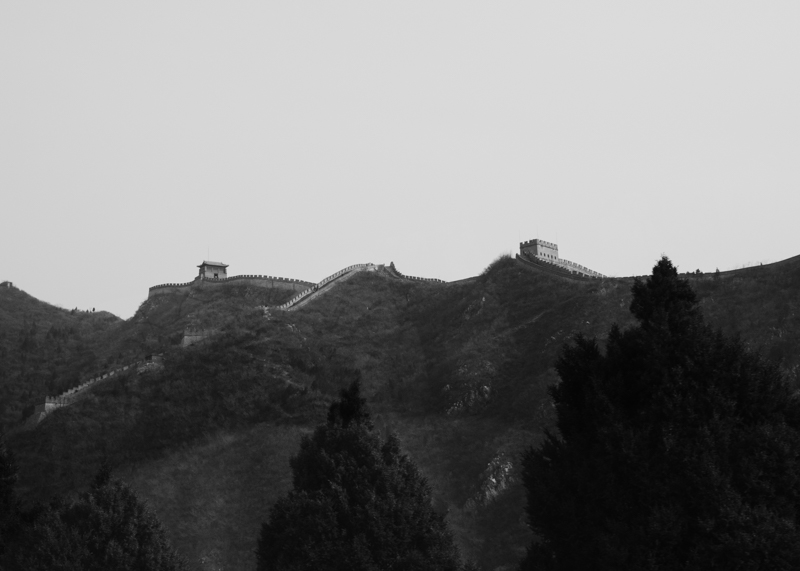 Great Wall on the Ridge_